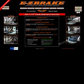 E-Z Brake - Free Your Floorboards!
